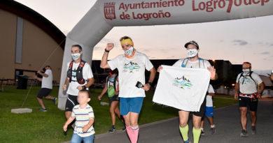 Rubén Zabala cumplió su reto por los niños con cáncer