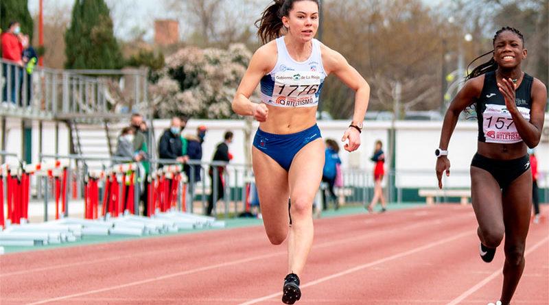 Ángela Castiella, única atleta riojana en el nacional Sub18