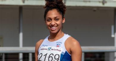 Eliani Casi, la atleta cubana que redescubrió el atletismo en La Rioja