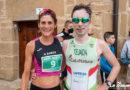 Sergio Tejada y Esther Rodríguez vencedores de la I  Carrera de Briñas 'Meandro del Ebro'