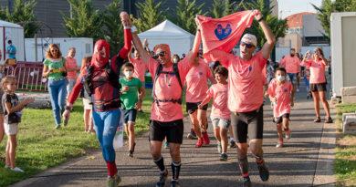 El Corredor Solidario  cumplió su mayor reto solidario por los niños con cáncer