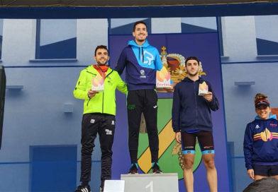 Javier Ochoa y Rocío Marín campeones de La Rioja de Duatlón Cros